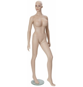 Манекен женский телесный HLM-7D