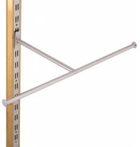 Кронштейн Т-образный хромированный L-65, W-35 2201-Т