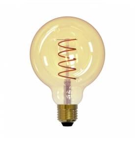 """Лампа светодиодная Vintage, Форма """"Шар"""" LED-G95-4W/GOLDEN/E27/CW GLV21GO"""