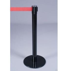 Столбик с красной вытяжной лентой SWR-50-2,5M