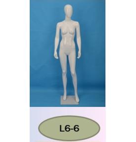 Манекен женский глянцевый L6-6