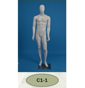 Манекен мужской глянцевый C1-1