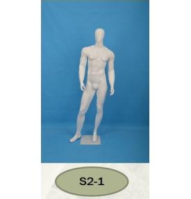 Манекен мужской глянцевый S2-1