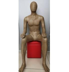 Манекен мужской сидячий F03330