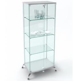 Витрина стеклянная ВК-700 Люкс