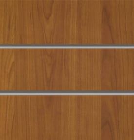 Экономпанель вертикальная толстая 2400*1200 мм (Орех) ЭП-101А