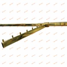 Кронштейн на овальную трубу 7 штырьков наклонный MG-SL7299U-7