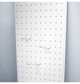 РЕ-6 Экономпанель перфорированная белая 1200*600 РЕ-6