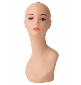 Манекен голова женская с макияжем FL-01