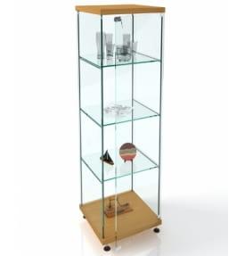 Витрина стеклянная без подсветки ВК-450