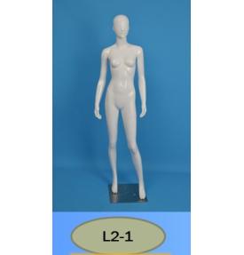 Манекен женский глянцевый L2-1