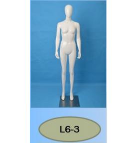 Манекен женский глянцевый L6-3