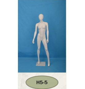 Манекен женский глянцевый H5-5