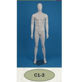 Манекен мужской глянцевый C1-3