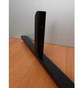 Опора для стойки Bazis 40*20*640 мм SL009BS BLACK