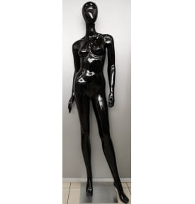 Манекен женский глянцевый с имитацией прически VBLA31