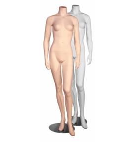 Манекен женский скульптурный(белый) MSW-01+F