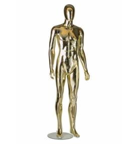 Манекен мужской стилизованный WA-2005(gold/silver)