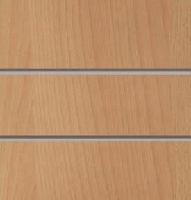 Экономпанель вертикальная толстая 2400*1200 мм (Темный бук) ЭП-101A